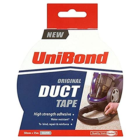 Unibond Duct Tape Silber 25m
