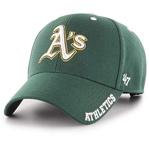 47 Brand Adjustable Cap - DEFROST Oakland Athletics Forest -