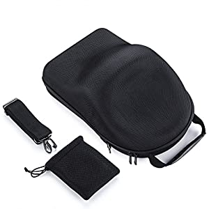PENIVO Housse de transport en nylon Sac en carton Hardshell Sac à bandoulière étanche Boîte de rangement pour lunettes DJI Goggles VR