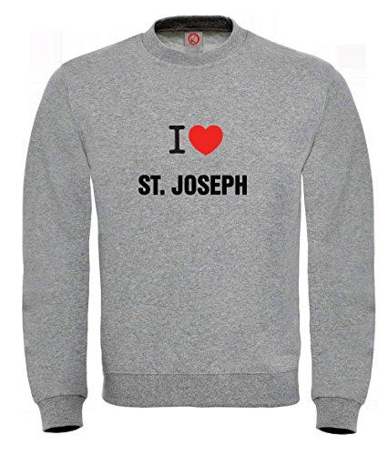 Felpa St. joseph gray
