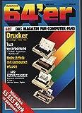 Drucker - Grundlagen, Trends, Tests, in: 64'ER - DAS MAGAZIN FÜR COMPUTER-FANS. 6/1987.