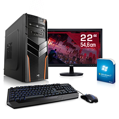 Entertain PC IDV FX-6300 inkl. Windows 7 Pro - AMD Hexa-Core FX-6300 6× 3500 MHz, GeForce GTX 750 Ti, 8GB RAM, 1TB HDD, 10in1 CardReader - 22