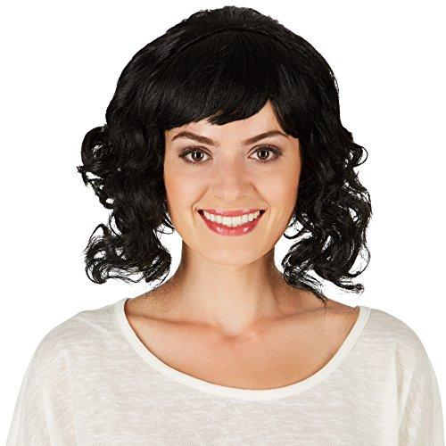 dressforfun Frauenperücke Baroness Marie-Luise | Wundervoll, hochgestecktes Haar | Tolle, seitlich geflochtene (Baroness Halloween Kostüme)