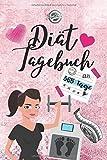 Diät Tagebuch: Das Diät & Fitness Tagebuch zum Ausfüllen  - 365 Tage Abnehmen, Kalorienzählen,...
