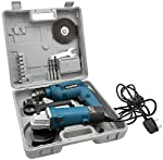 Sata 2 piece Drill Tool Kit and Grinder 450 W - ZEC3-PTK202