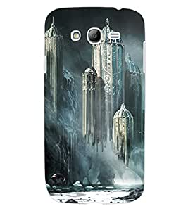 ColourCraft Flying Castle Design Back Case Cover for SAMSUNG GALAXY GRAND I9082