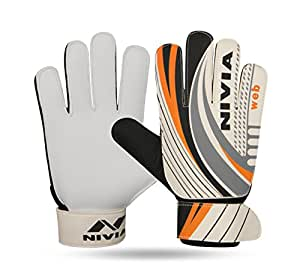 Nivia GG-898 Web Goalkeeper Gloves (Multi Color)
