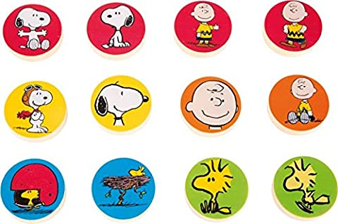 Peanuts Magnete - Snoopy, Charlie Brown & Co. am Kühlschrank | Preis je Stück (Peanuts Snoopy Charlie Brown)