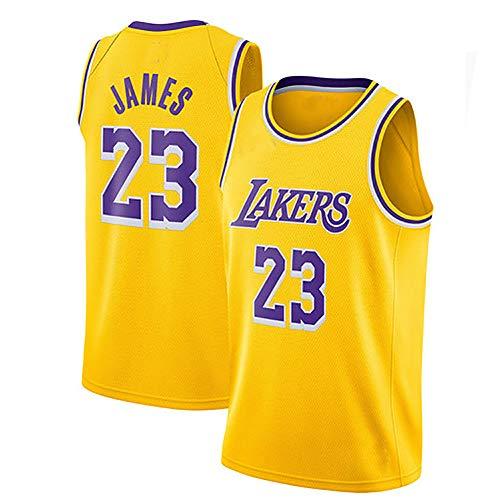 Basketballuniform Basketball Trikot Lakers 23. Blauer Ball Anzug T-Shirt