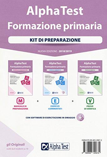 Alpha Test. Formazione primaria. Kit di preparazione. Con Contenuto digitale per download e accesso on line