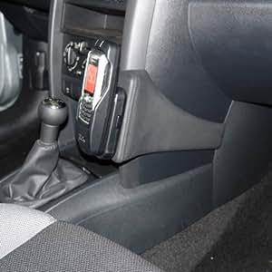 KUDA console pour peugeot 207 cC & 207 modèles à partir de 05/2006 mobilia/cuir synthétique-noir