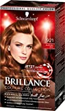 Schwarzkopf Brillance Intensiv-Color-Creme, 921 Kupferrot Stufe 3, 3er Pack (3 x 143 ml)
