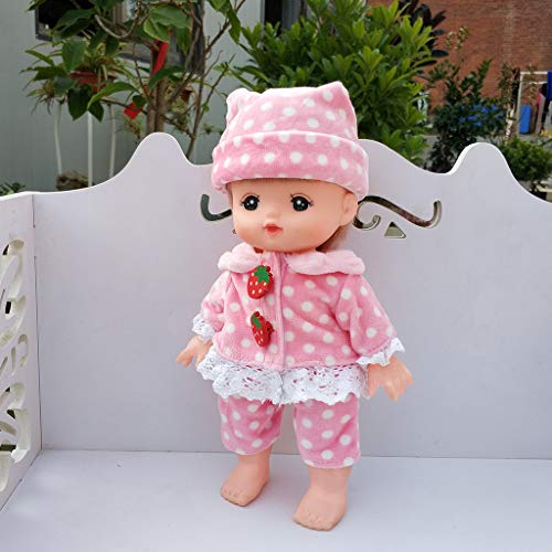 ad55e690744928 Günstig P Prettyia Süße Babypuppe Kleidung Jacke Rock Socken Tasche ...
