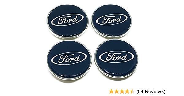 4PCS 54mm Alloy Wheels Centre Caps For Ford S-Max /& Galaxy Mondeo B-Max Focus UK