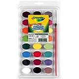 Crayola - 53-0524-e-000 - Kit De Loisirs Créatifs - Palette De Peinture Lavable - 24 Couleurs