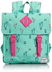 Herschel Children's Backpack, 4 Liters, South Beach/ Pink Rubber