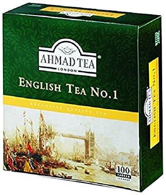 Thé noir Ahmad English Tea N°1 - Boite de 100 sachets