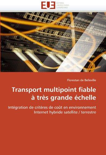 Transport multipoint fiable à très grande échelle: Intégration de critères de coût en environnement Internet hybride satellite / terrestre (Omn.Univ.Europ.) par Florestan de Belleville