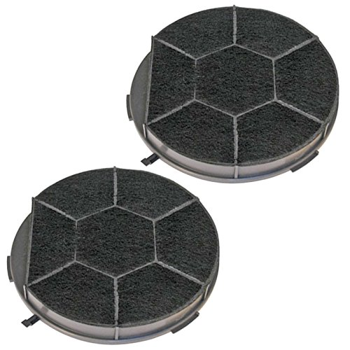 Spares2go chf28/1tipo filtro de carbón para Indesit Campana Extractor Ventilación (Pack de...