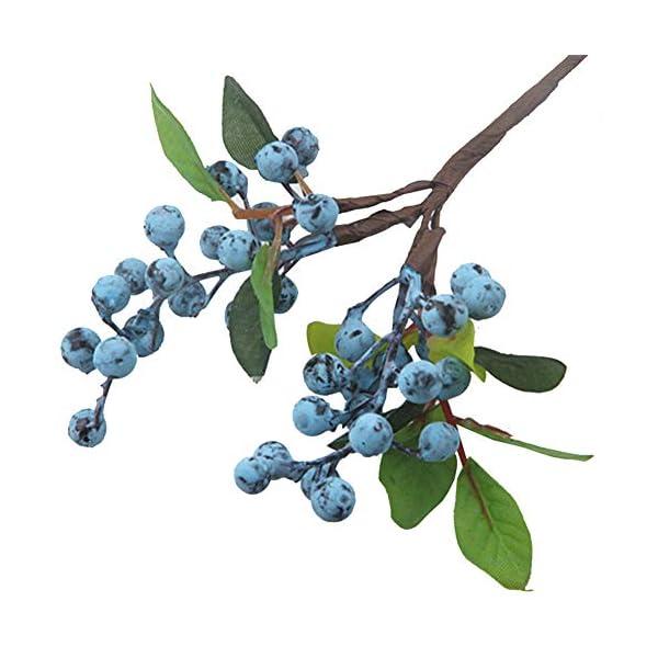 NewPointer – Planta Artificial de Acacia para simulación de Flores Artificiales, Accesorios para arreglos de Flores y…