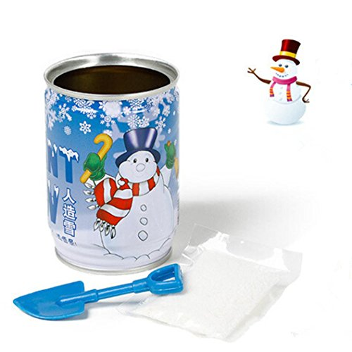 Huhu833 Sofortiges Weihnachtsmagie Schnee Pulver wiederverwendbare künstliche Weihnachts dekoration (Weiß)