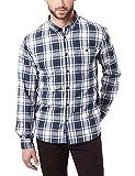 Pioneer Herren Freizeithemd Shirt Longsleeve Check, Blau (Blueberry 519), Kragenweite: 45 cm (Herstellergröße: XL)
