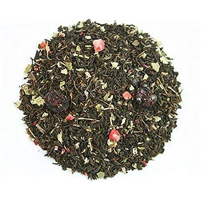 MALI Gourmet 250gr. Thé rouge Fruits des bois: thé rouge Pu erh, fraise, framboise, canneberge, cerise, mûre, feuille de mûre, arôme