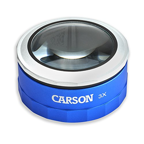 carson-optical-magnitouch-3x-touch-activated-led-lighted-stand-loupe-magnifier-blue