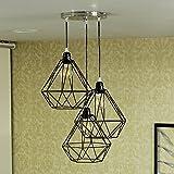 PR Prashant 3 Light Dimanod Pendents ceiling lamp