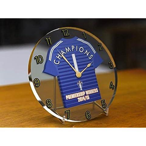 Chelsea FC Club De Fútbol–Barclays Premier League Winners Conmemorativa de la 2014/15Reloj de escritorio con–Champions