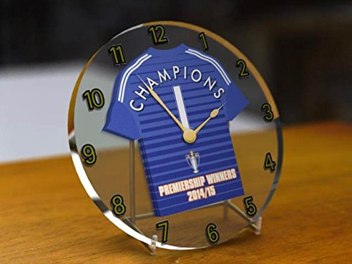 CHELSEA FC FOOTBALL CLUB-BARCLAYS PREMIER LEAGUE WINNERS CHAMPIONS 2014/15-COMMEMORATIVE-OROLOGIO DA SCRIVANIA, ANNO