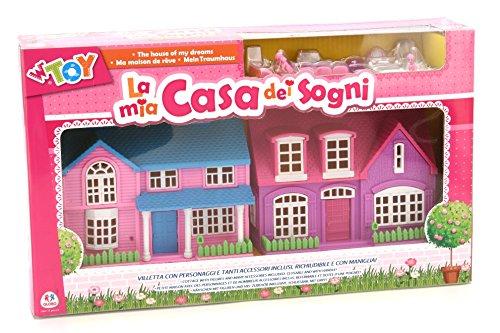 Viscio Trading 165165-Casa de los sueños con Accesorios