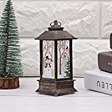 LILIGOD Weihnachten Deko LED Glowing Cottage Licht Weihnachten Atmosphären Dekorative Requisiten Kunststoff Glowing Night Light House Weihnachten Garten Dekoration Geschenk