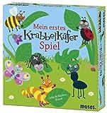 moses. - Mein erstes Krabbelkäfer Spiel | Ein Würfelspiel für 2 bis 4 Spieler ab 3 Jahren | Fördert die Konzentration