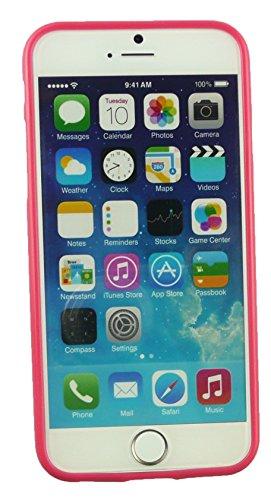 """Emartbuy® Eingabestift Pack Für Apple Iphone 6 6G 6S 4.7 """" Zoll LCD Displayschutz + Metallic Mini Rot Eingabestift + Glänzend Gel Hülle Schutzhülle Case Cover Rot Rosa Glanz Gel"""