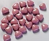 Confetti Pelino Sulmona dal 1783 Confetti Rosa Cioccolato a Forma di Cuore - Confezione da 500 gr