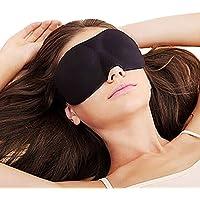 Demarkt Augenmaske Augen Maske Binde Schlafbrille Schlafmaske (Schwarz) preisvergleich bei billige-tabletten.eu
