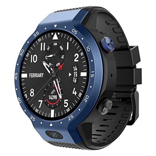 ASKAI Smartwatch, Touchscreen Smart Uhr Fitness Tracker mit Schrittzähler Schlafanalyse für Herren Damen,Blue