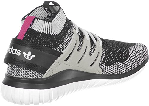 adidas Tubular Nova Primeknit Black Dark Grey White noir blanc
