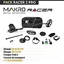 Detector de metales Pack Makro Racer 2 Pro