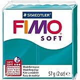 Staedtler - Fimo Soft - Pain Pâte à Modeler 57 g Pétrole