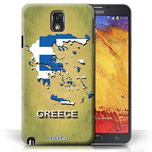 Kobalt® Imprimé Etui / Coque pour Samsung Galaxy Note 3 / Australie conception / Série Drapeau Pays Grèce/Grecque