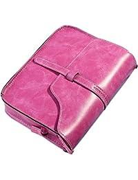 KanLin1986 Bolsos para Mujeres, mujer Vintage cuero Bolsos de hombro Casual CrossBody Bolsas de mensajero