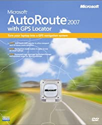 Microsoft Autoroute With Gps 2007 (Pc)