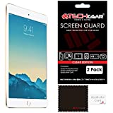 [Pack de 2] TECHGEAR® Apple iPad Mini 3 / Mini 2 / Mini Film de Protection Ultra Clair pour Écran LCD avec Chiffon de Nettoyage & Carte d'Application pour iPad Mini 1ère, 2ème & 3ème Génération
