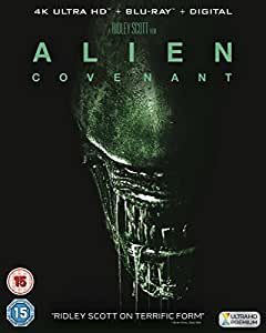 Alien: Covenant [4k ultra hd+blu ray+ digital] [2017] [Blu-ray]