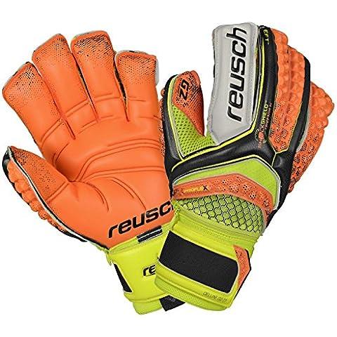 Guanti Portiere Calcio REUSCH Re:Pulse Repulse Deluxe G2 Ortho Tech con Stecche Protezione Dita (10)