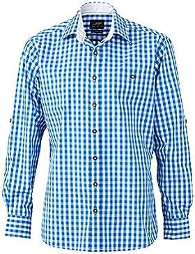 James & Nicholson Herren Hemd im Trachtenlook