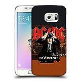 Head Case Designs Offizielle AC/DC ACDC Live at River Plate Hörner Albumgrafik Ruckseite Hülle für Samsung Galaxy S6 Edge