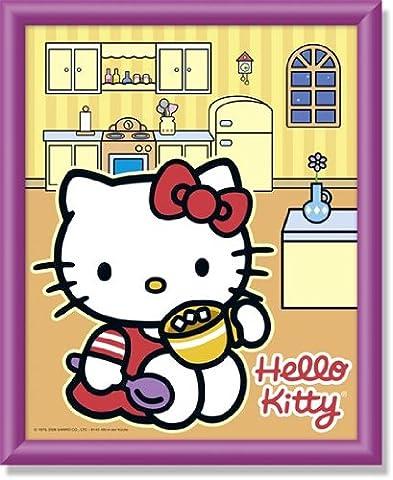 Schipper 609140460 - Malen nach Zahlen - Hello Kitty in der Küche, 20x25 cm
